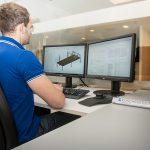 Planung und Konstruktion an unseren CAD-Arbeitsplätzen
