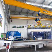 Blechbearbeitung: Plattenfräse zur Metallverarbeitung