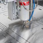 Lohnfertiger Metallbearbeitung Fräsen Zuschnitt CNC Fräse Chemnitz Limbach-Oberfrohna